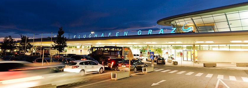 ab Flughafen Graz