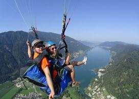 Tandem-Paragleitflug von der Gerlitzen für 1 Person