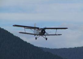Alpenrundflug mit der Antonov AN-2