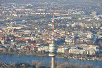 40 Min. Rundflug mit dem Flugzeug über Wien ab Flugplatz Bad Vöslau