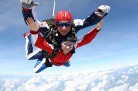 Tandem-Fallschirmsprung ab Flugplatz Wels