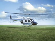 Rundflug mit der Bell 206 Jet Ranger 4 Personen 60 Min.