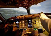 Flugsimulator A320 beweglich Flughafen München