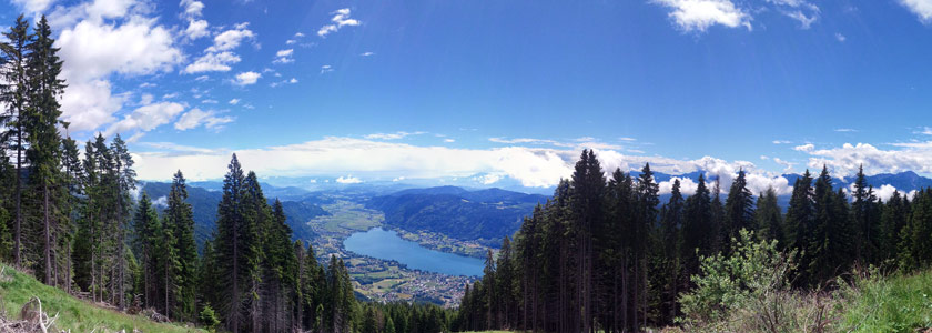 Paragleiten in Kärnten