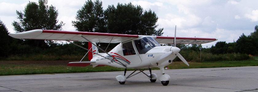 Rundflüge Ultra-Leicht Flugzeug