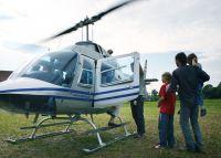 40 Min. Rundflug mit dem Hubschrauber über Wien für 4 Personen ab Flugplatz Stockerau