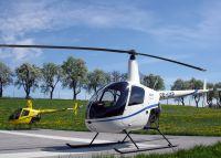 40 Minuten Selbersteuern mit dem Hubschrauber Robinson R22  ab Flughafen Linz