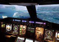 Flugsimulator A380 in Frankfurt
